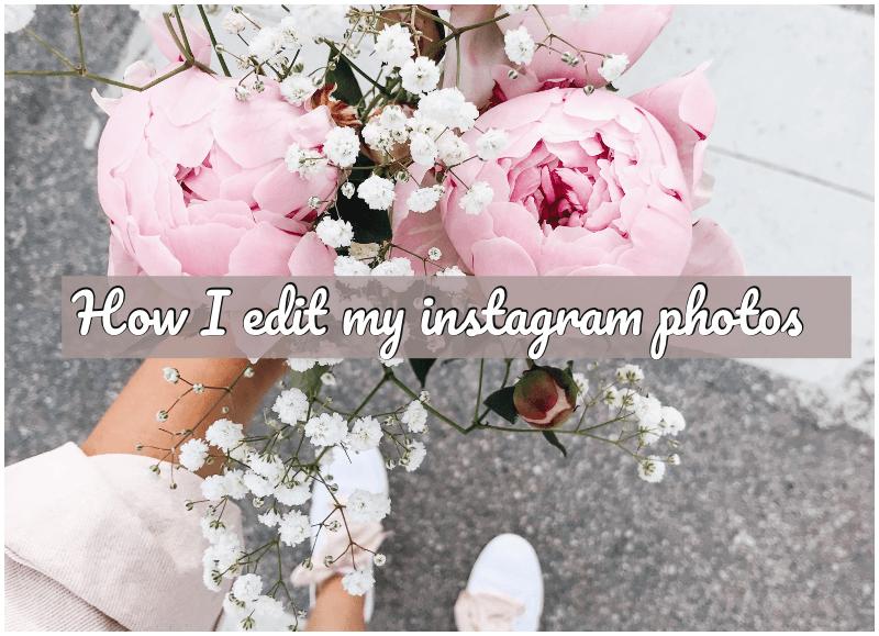 How I edit my instagram photos! (Hur jag redigerar mina instagram bilder)